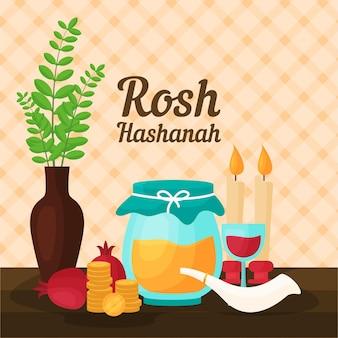 Rosh hashanahのお祝い