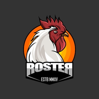 Roster head logo