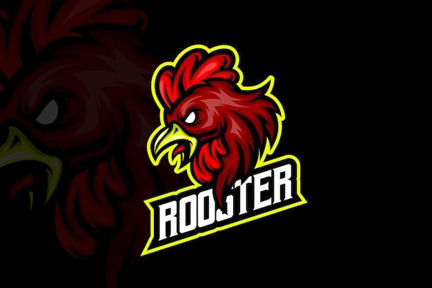 Roster team- esport logo template