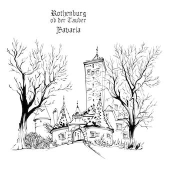 Ротенбург-об-дер-таубер, германия