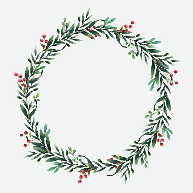 Christmas Wreath Vectors, Photos and PSD files