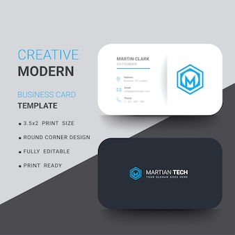Round corner business cards images business card template rounded corners vectors photos and psd files free download round corner business card with blue details reheart Choice Image