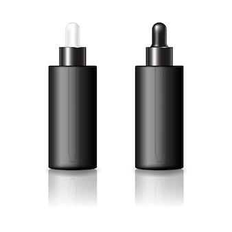 美容のためのスポイト付き丸い化粧品ボトル