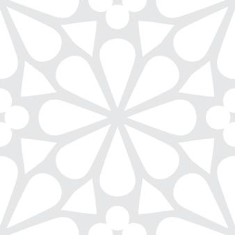 Sfondo modello semplice cornice rotonda