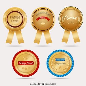 セットラウンド黄金のメダル