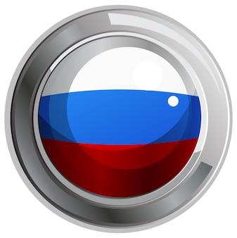 러시아 국기에 대 한 라운드 아이콘