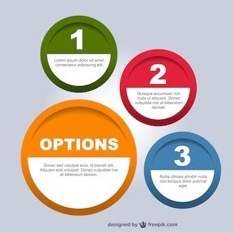 Round information templates