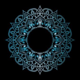 Round mandala background
