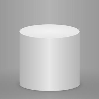 円形の表彰台、台座、またはプラットフォームが点灯 Premiumベクター
