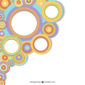 Round shapes background