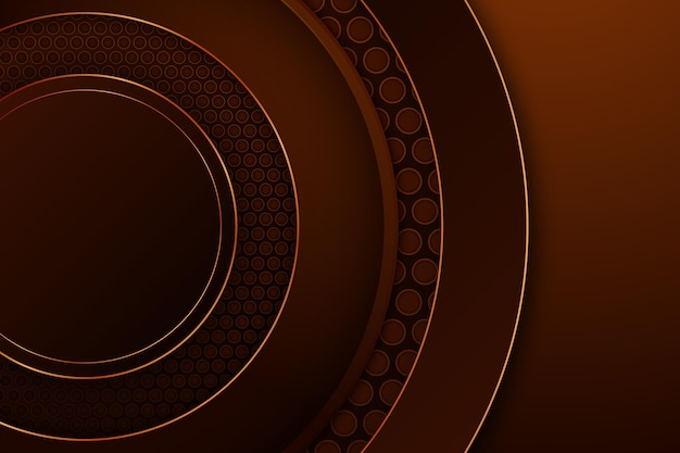Round shapes luxurious background
