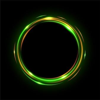 Rounded light shiny