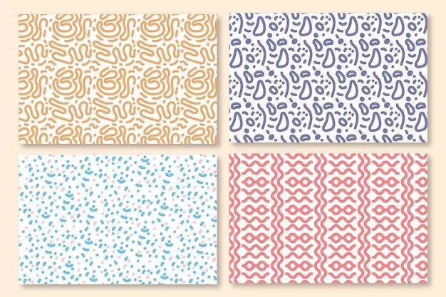 Коллекция шаблонов округлых линий