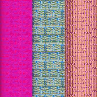 Коллекция шаблонов с закругленными линиями