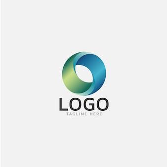 Rounded logo design