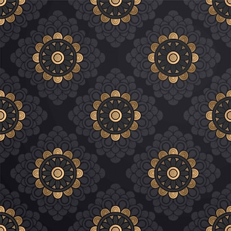 Rounds seamless pattern