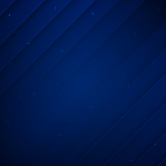 Royal blue modern memphis background
