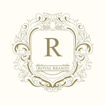 Royal brand logo design