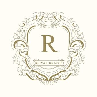 Дизайн логотипа royal brand
