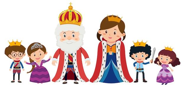 왕실 만화 캐릭터