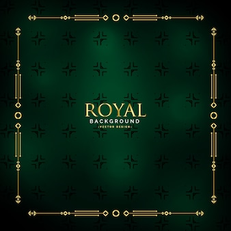 Иллюстрация королевского золотого фона