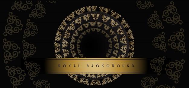 Royal golden background
