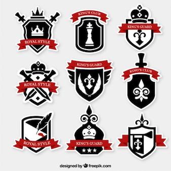 Royal insignias