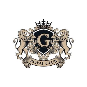 로얄 라이온 브랜드 로고