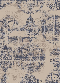Royal luxury texture background. vintage grunge baroque pattern