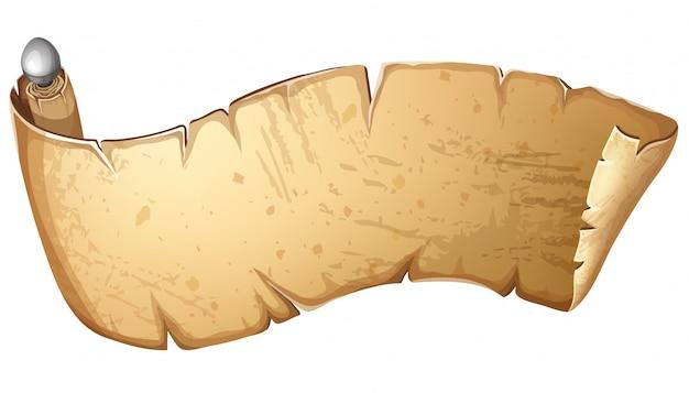 Royal old parchment.