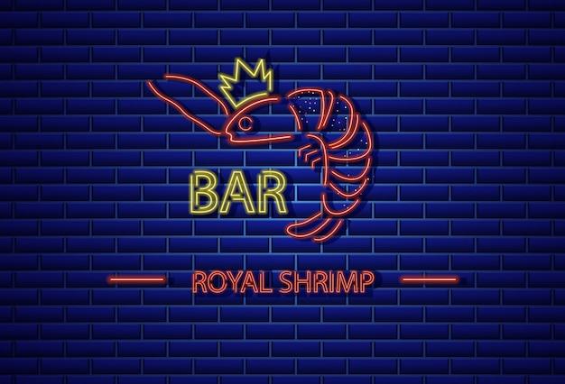 Royal shrimp neon