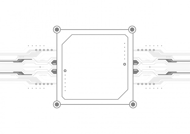 Rtificual intelligent computer template design, digital technology abstract backgroun