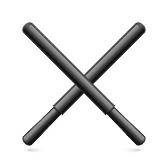 Rubber batons