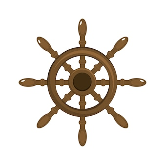 Rudder ship object to marine navigation
