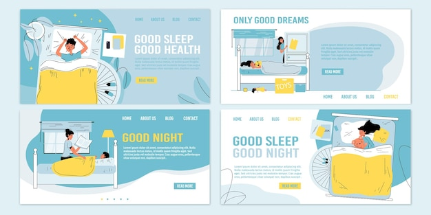 Rules,tips,recommendations,healthy habits information for children for better night sleep.