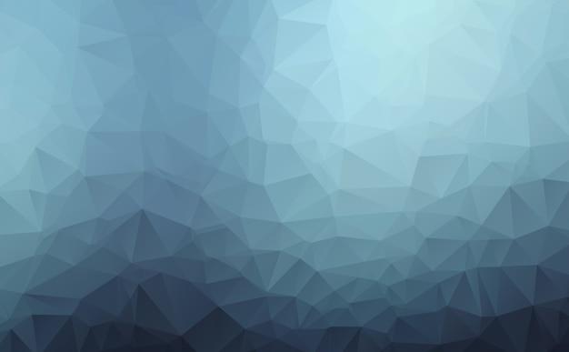 抽象的な幾何学的な三角形の低ポリスタイルのrumpled