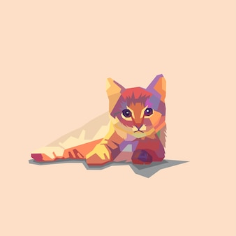 Rumpy cat fullcolour walpaper
