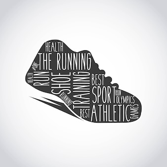 Runner shoes design