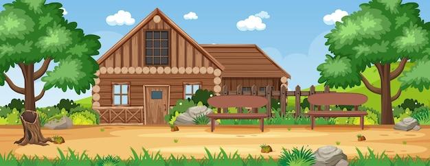 시골 시골 집 풍경