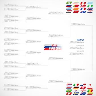 Russia 2018 world cup calendar soccer playoffs design