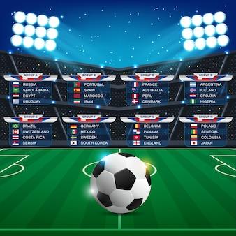 Russia 2018 world cup calendar