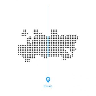 Россия придумала вектор дизайна карты