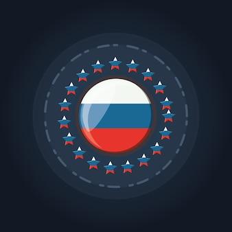 Russian flag design
