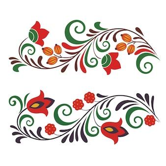 Русский традиционный орнамент, хохлома, хохлома, образ