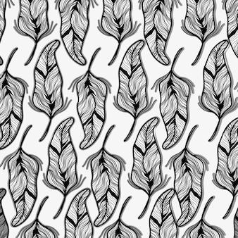 Rustic leaves decoration background design