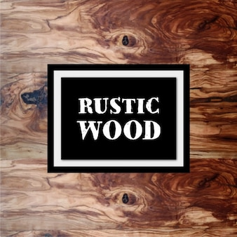 Rustic wooden background design