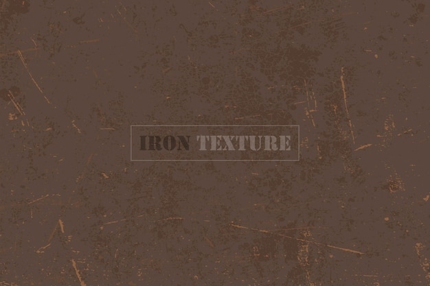 Rusty iron background  texture