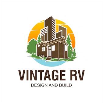 Rv logo design