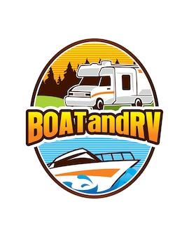 Логотипы и шаблон логотипа rv