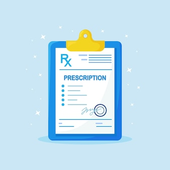 Бланк рецепта rx. рецепт обезболивающих. фармацевтическая промышленность, лечебные препараты.